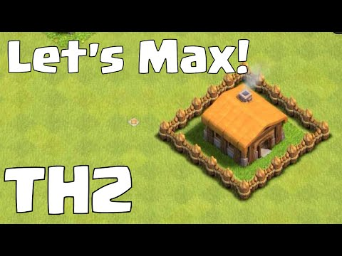 Clash Of Clans Let's Max Townhall 2 (Upgrade to TH 3?) Let's Play Clash Of Clans!