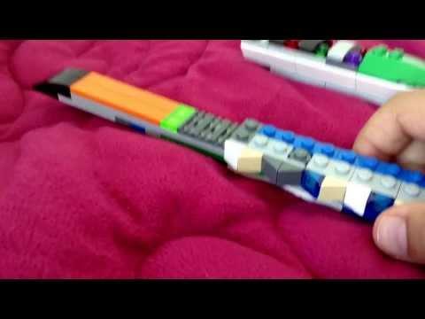 Lego combat knife showcase