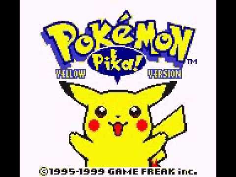 Pokemon Yellow Intro