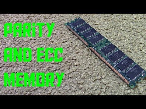 What are parity and ECC memory? (AKIO TV)