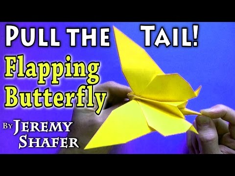 Pull-the-Tail Flapping Butterfly