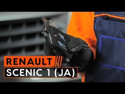 How to replace rear brake pads RENAULT SCENIC RX4 [TUTORIAL AUTODOC]