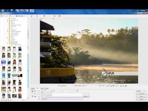 How to make a simple yet elegant Watermark for Photography (Novice Stage)