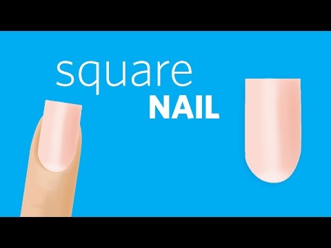 How to File Square Nails