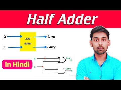 Half Adder In Hindi | Full Detail | By Nirbhay Kaushik
