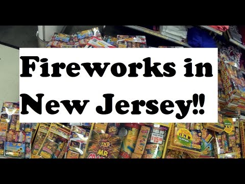Buying Fireworks in New Jersey