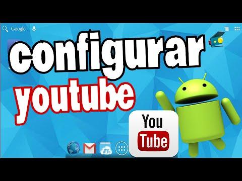 Instalar Youtube e Configurar no Android, celular e tablet