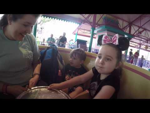 Disney World Magic Kingdom 2015 and T-Rex Cafe