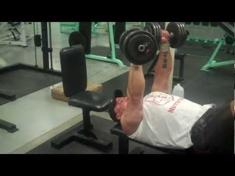 Chris250 finishes chest off with a widowmaker set of fly to presses