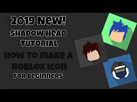 How to make a ROBLOX Cartoon Profile Picture Icon For Youtube (Step by Step) - May 2018