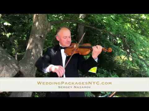 Violin Player for Wedding Packages NYC