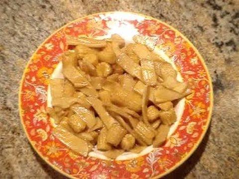 Baby Corn and Bamboo Stir Fry Recipe