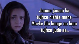 Janmo Janam | Ghost | Yasser Desai | Sanaya Irani, Shivam B | Nayeem-Shabir | Vikram B | Shakeel A |