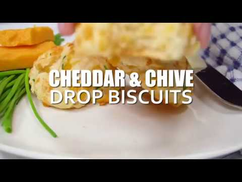 How to make: Cheddar & Chive Drop Biscuits