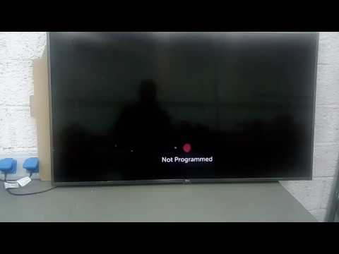 LG Smart TV Country setup
