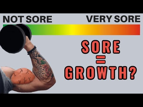 Does Muscle Soreness Mean Muscle Growth? (
