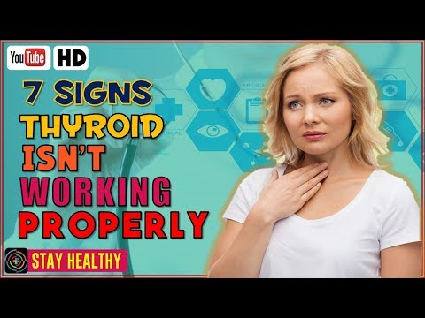 7 Health Signs Your Thyroid Isn't Working Properly