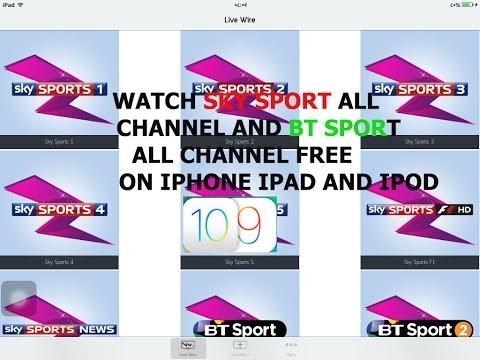 NEW Watch Sky Sports, Movies & BT Sports FREE iOS 9 - 9.3.4 / 10 NO Jailbreak iPhone, iPad, iPod