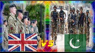 British Armed Forces VS Pakistan Armed Forces - Comparison 2016 - 2017