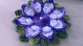 Vamos agora fazer flores em crochê para aplicação com Cristina Coelho Alves