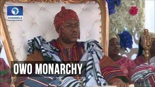 Oba Ajibade Ogunoye Is Crowned 32nd Olowo