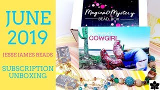 Download JUNE 2019 Jesse James Beads Monthly Subscription Box Unboxing | Beaded Jewelry Making Video