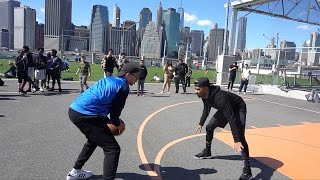 1 VS 1 Against Sub in NYC GONE WRONG!! RARE PAIR OF SHOES ON THE LINE!!