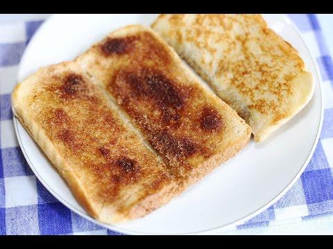 Toast Recipe : How to Make Cinnamon Toast