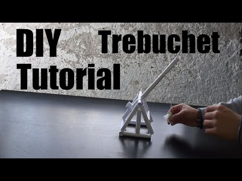 How To Make a Paper Trebuchet