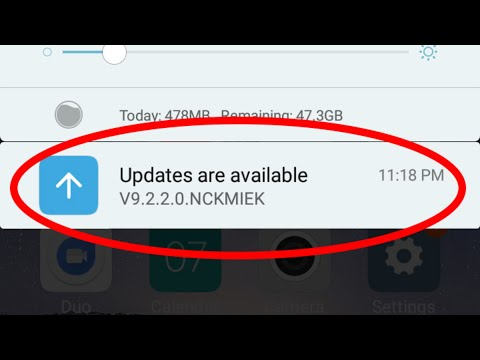 Disable/Stop System Update Notification(Auto Update) In Android-Block Apps Notifications.