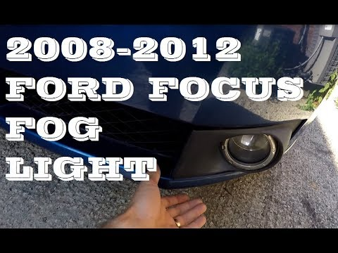 How to replace change fog light in 2008-2012 Ford Focus