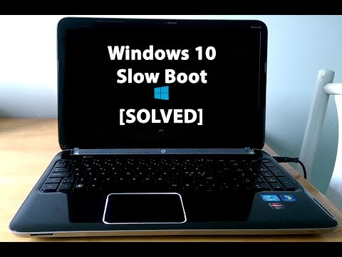 [Solved] Slow Boot-up on Windows 10 (2018)