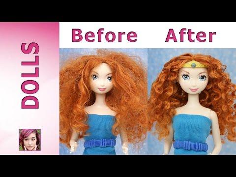 Disney Princess: Merida's Makeover Part 1 - Hair Repair