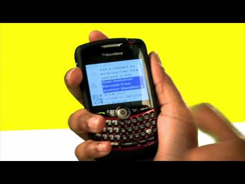 Blackberry Tips: Collect Contact Info by Capturing Barcodes on Your Blackberry