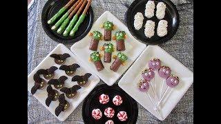 HALLOWEEN TREATS | 6 Easy to make Party Treats | DIY Demonstrations by Deronda