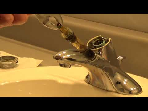 Moen Bathroom Faucet Repair - Moen 1225