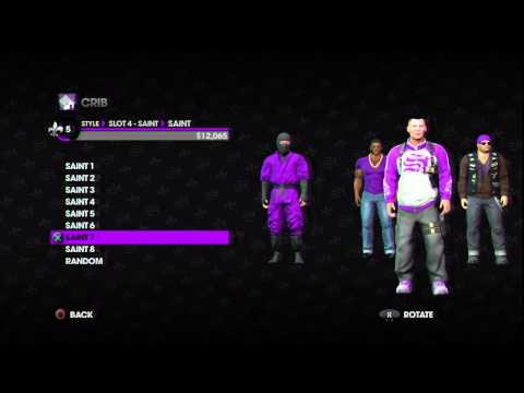 Saints Row 3 | Gang Customization Gameplay (HD)