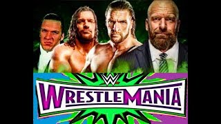 Triple H WrestleMania Matches Highlights 1996 To 2019 Compilation HD