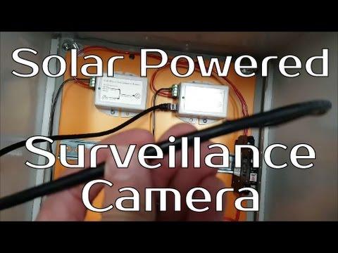 Solar Powered Surveillance Camera Project