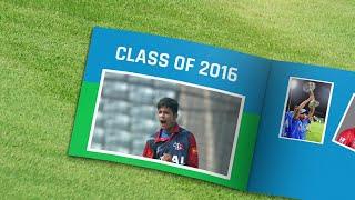 ICC U19 CWC: Class of 2016