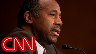 """Ben Carson says old furniture was """"dangerous"""""""