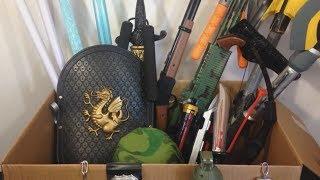 Box of Toys 🎁 Box Full of Toys 💥 Kids Toys 🔫 Guns  🎈 Kids Fun 🚗 Nerf 🔫 Weapons