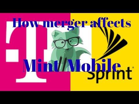 How Sprint T-Mobile merger affects Mint Mobile customers  (mintsim.com mintmobile.com mint sim)