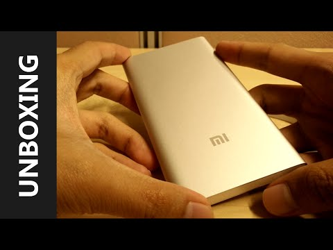 Xiaomi 5000mAh Power Bank Unboxing and Hands on