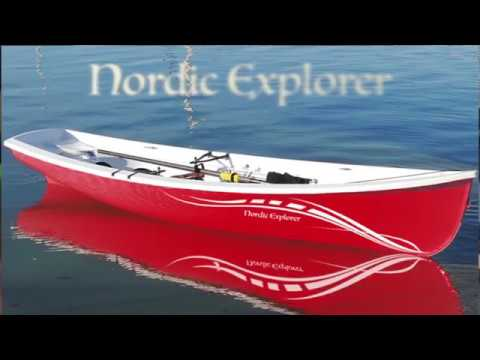 Nordic Explorer Stable Coastal/Recreational Rowing Boat