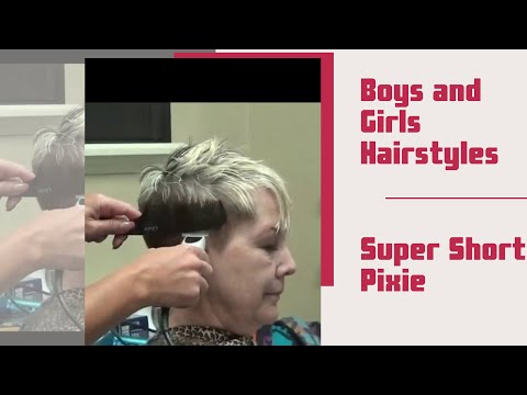 (Pixie Haircut) Older Women Short Hairstyles