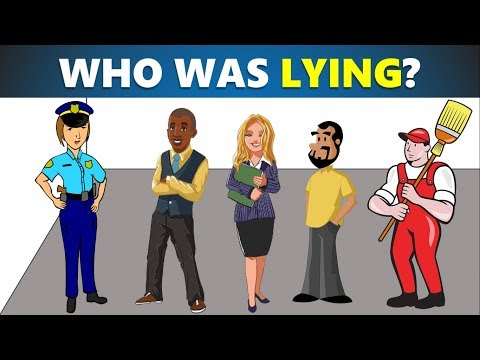 3 riddles popular on crime - Murder mystery riddles - Who did it? - can you solve it?