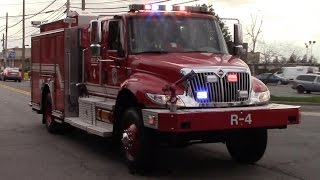 Fire Trucks Responding Compilation Part 18 -  Rescue Trucks And Special Operations