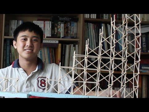 I'm Building a Model Roller Coaster
