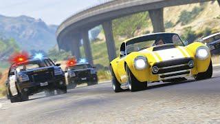 Daring Car Dealership Robbery - GTA 5 Action film | Epic car chase